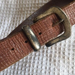 Soft leather belt 30